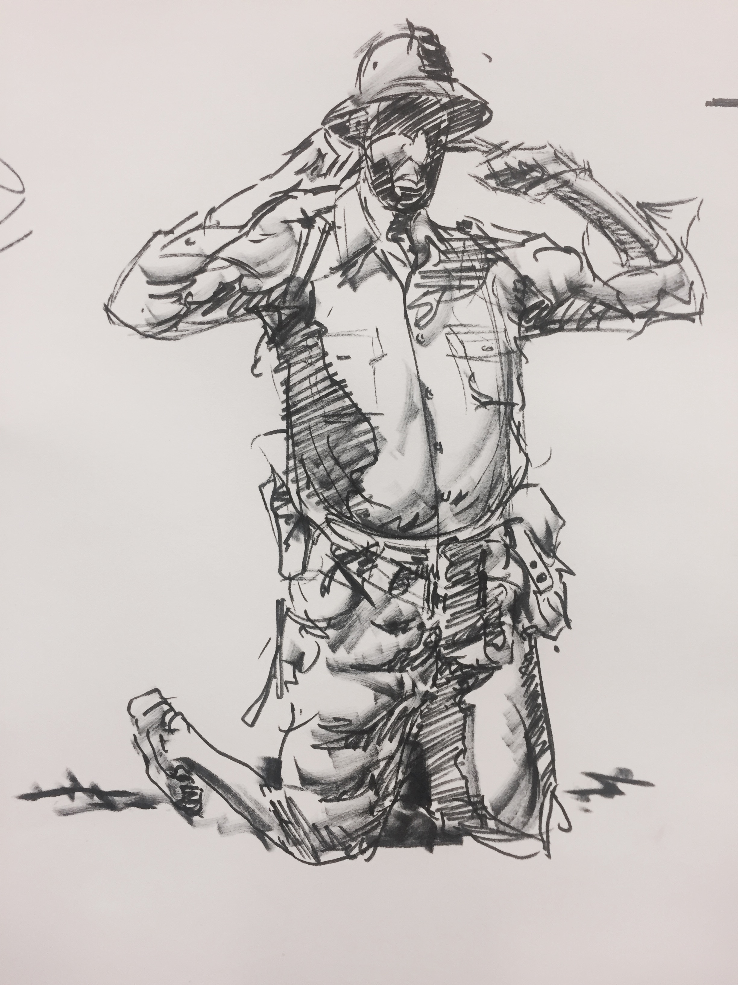 Costumed Figure Drawing with Charles Hu Spring 2017 — Art MentorsArt ...