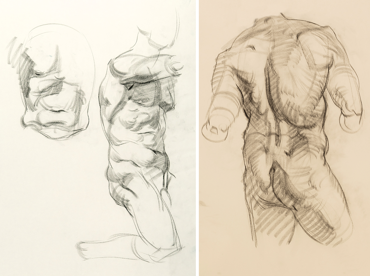 Figure Drawing For Beginners with Joshua Jacobo Spring 2018 — Art ...