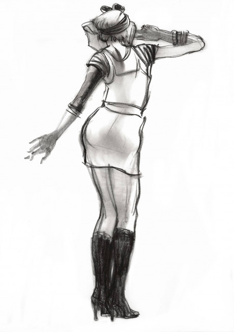 Costumed Figure Drawing and Characterization 2
